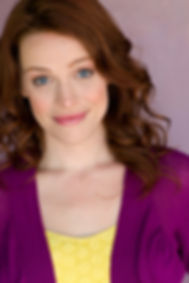 Jessica Rothert, actress, headshot