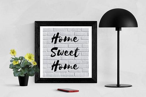 Home Sweet Home Wall
