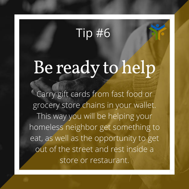 Be ready to help