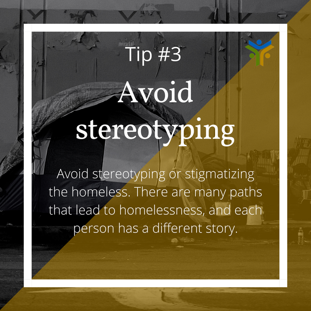 Avoid stereotyping