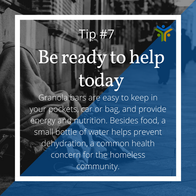 Be ready to help today