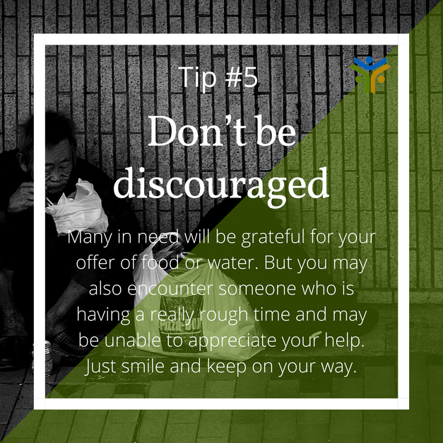 Don't be discouraged