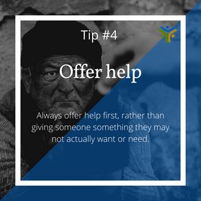 Offer help