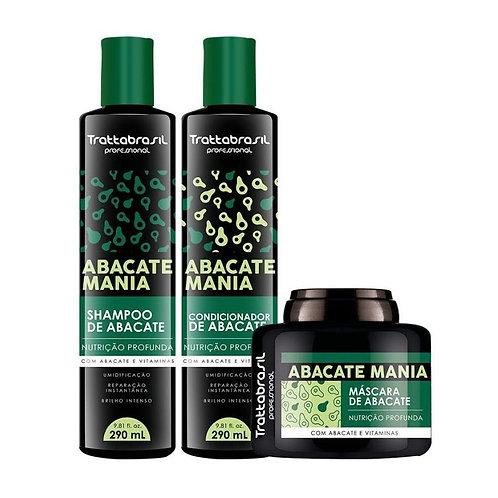 kit Abacate Mania com 3 itens