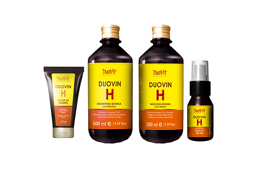 kit Duovin Duo com 4 itens