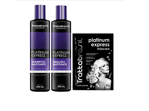 kit Platinum Express com 3 itens