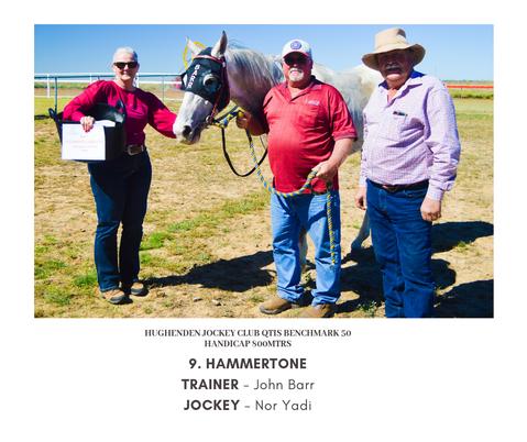 hUghenden jockey club qtis benchmark 50