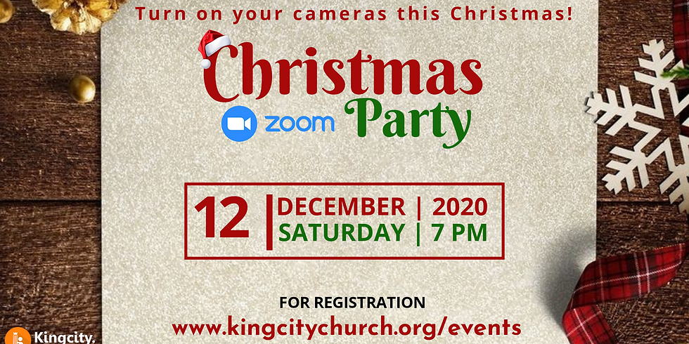Christmas Zoom Party