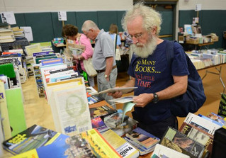 Danbury FRIENDS Book Sale on Target for October 10, 11, and 12!