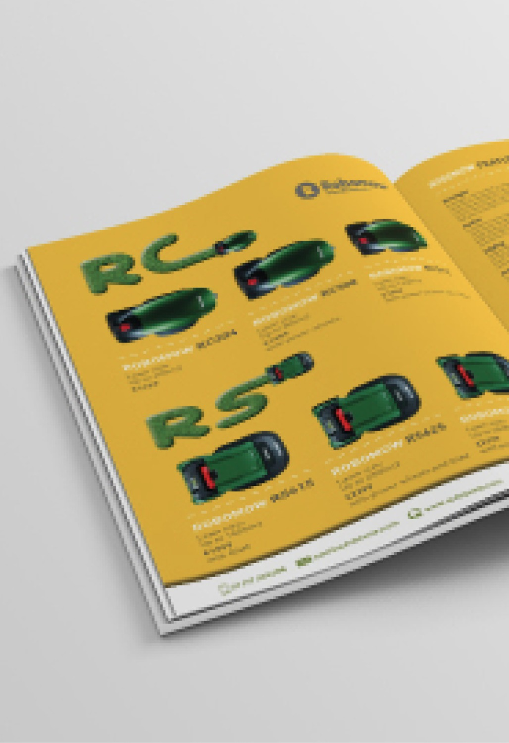 BROCHURE DESIGN - AUTOLAWNS