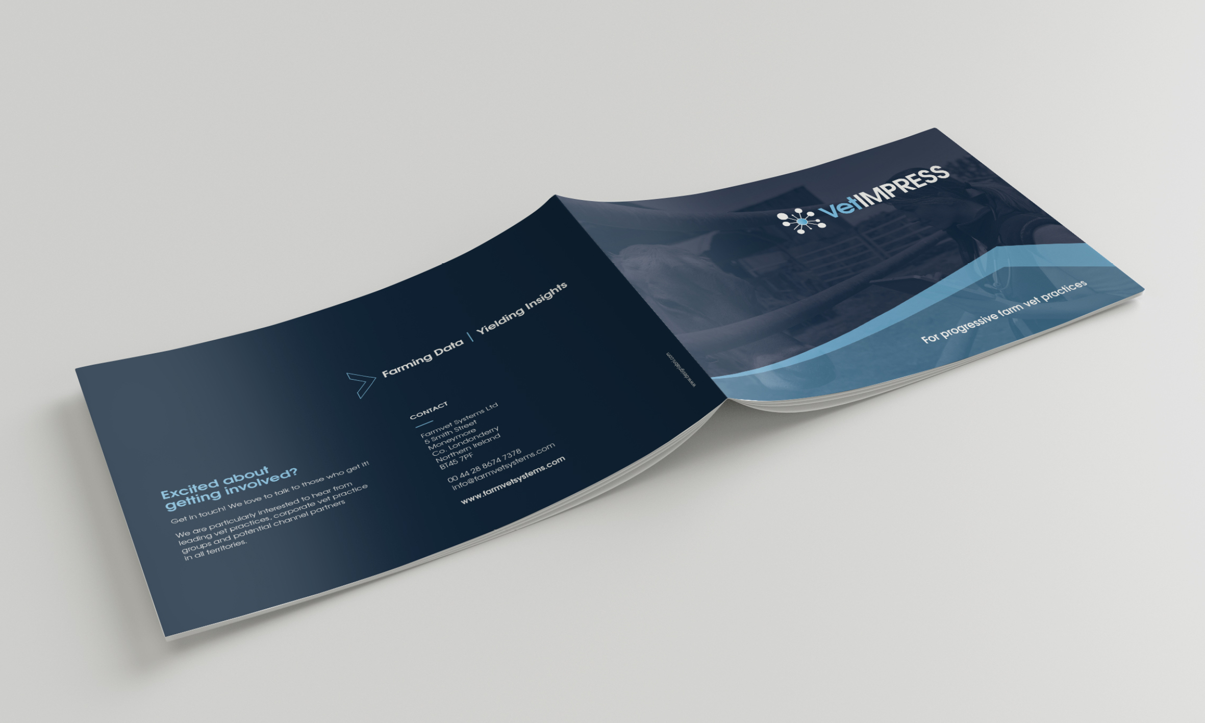 BROCHURE DESIGN - FARMVET SYSTEMS
