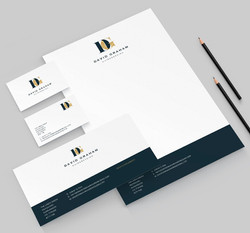 BRANDING - DAVID GRAHAM HAIRDRESSING
