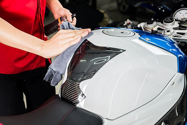 Motorcycles detailing series : Cleaning