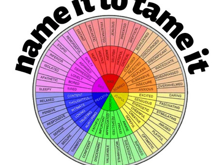Name it to Tame It: A Tool to Help You Handle Big Emotions