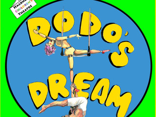 3 May, 12 & 2 pm - Dodo's Dream at Hackney Children's Theatre