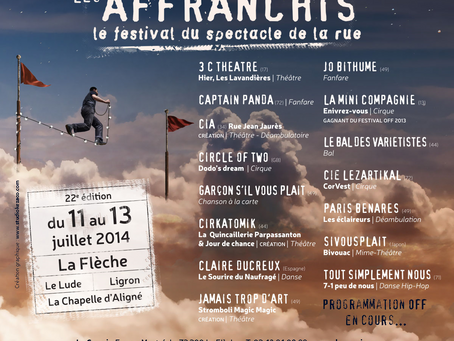 Festival Les Affranchis - La Fleche, France, from 11 to 13 July 2014