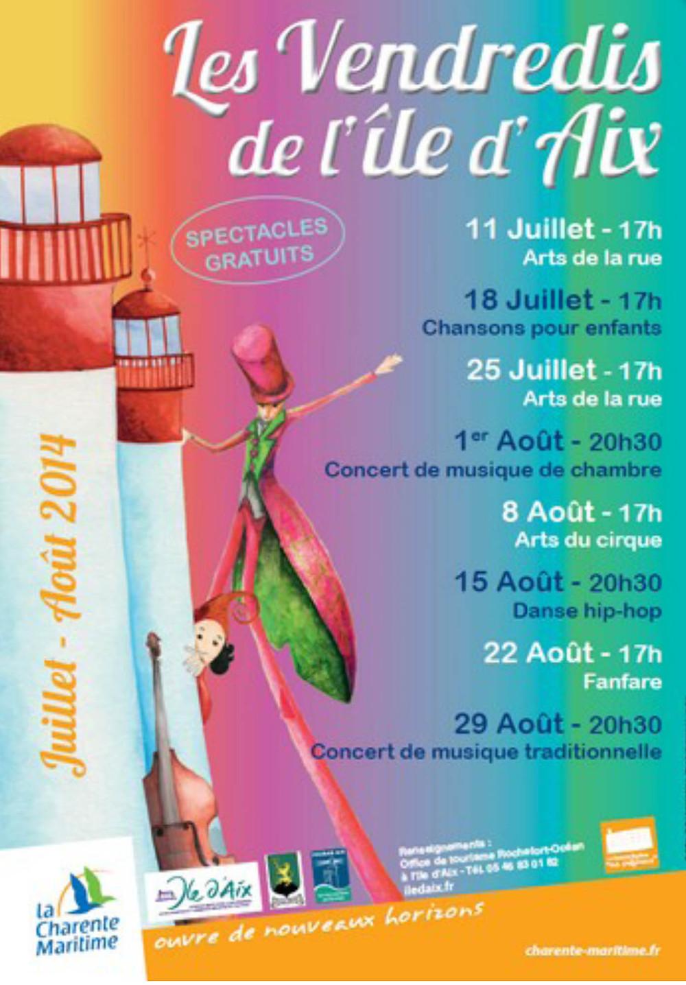 Les Vendredis de l'Île-d'Aix
