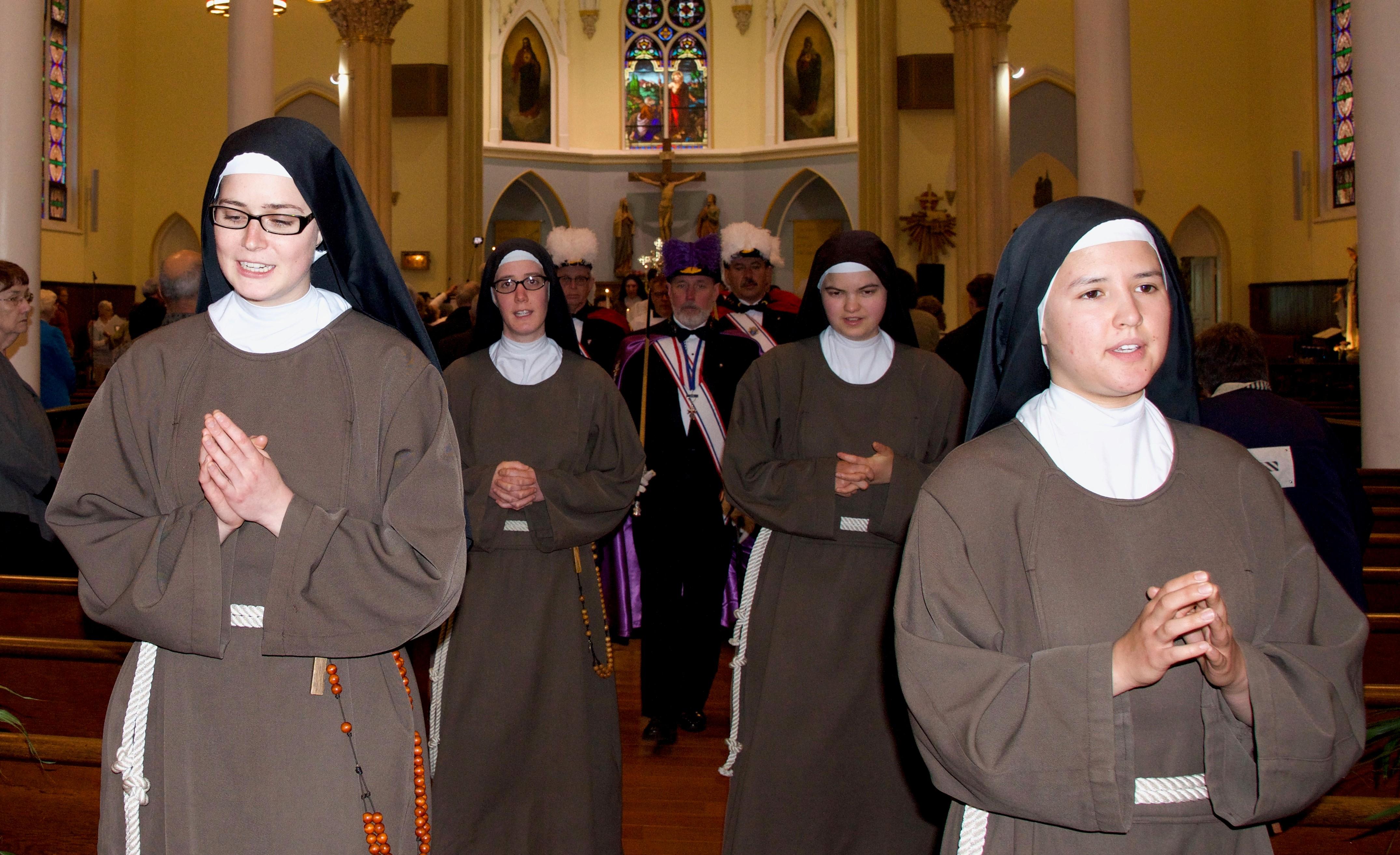 exit procession final vows