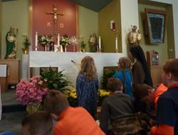 first communion adoration