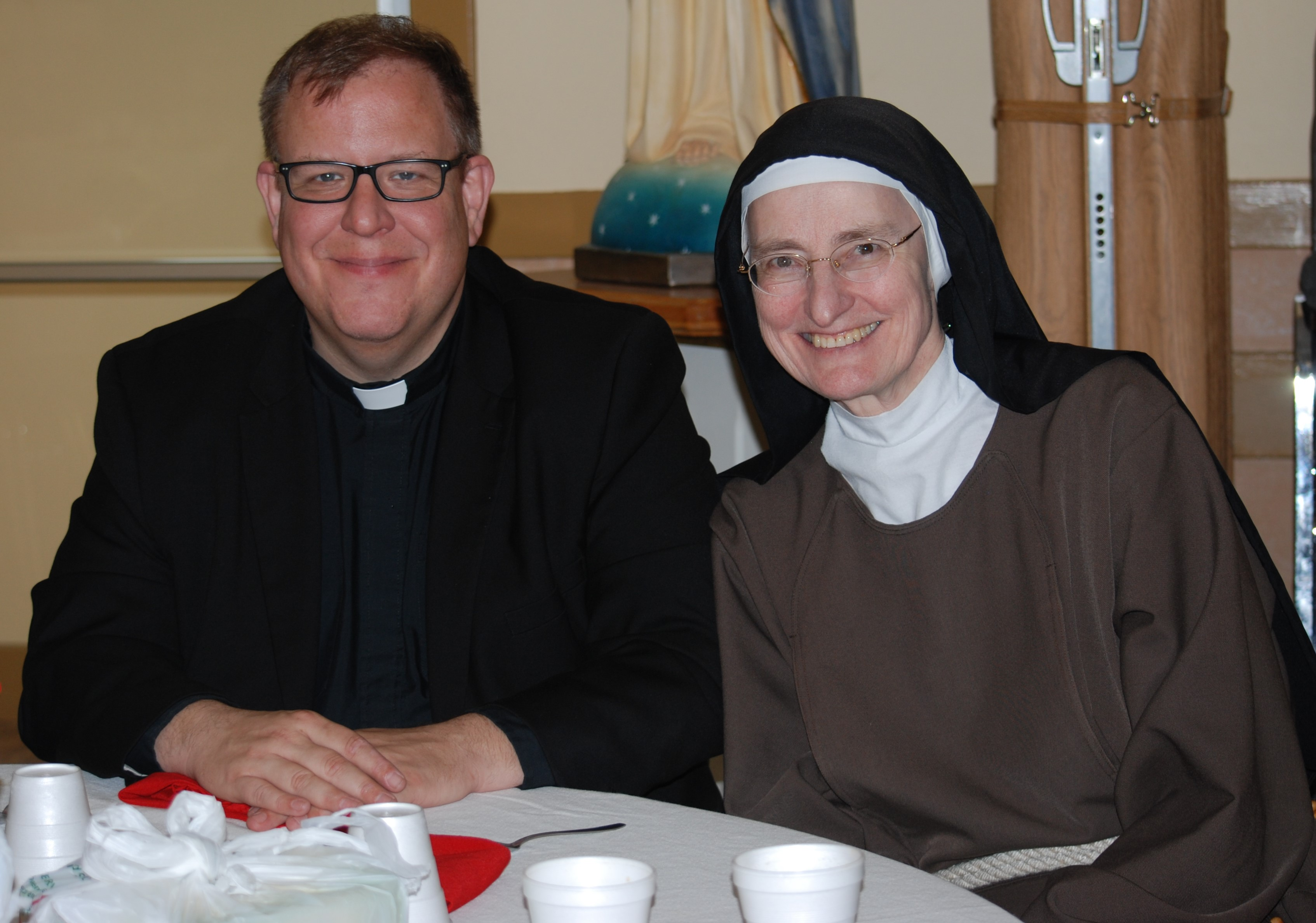 fr. brian and sr. j