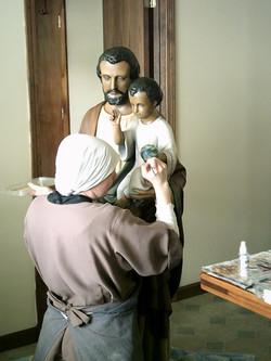 painting St. Joseph