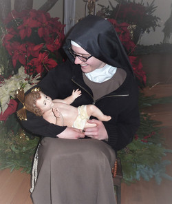 baby Jesus sister