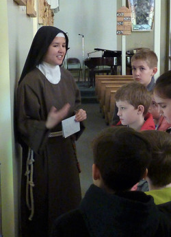 first communion pilgrimage