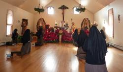 christmas chapel mass