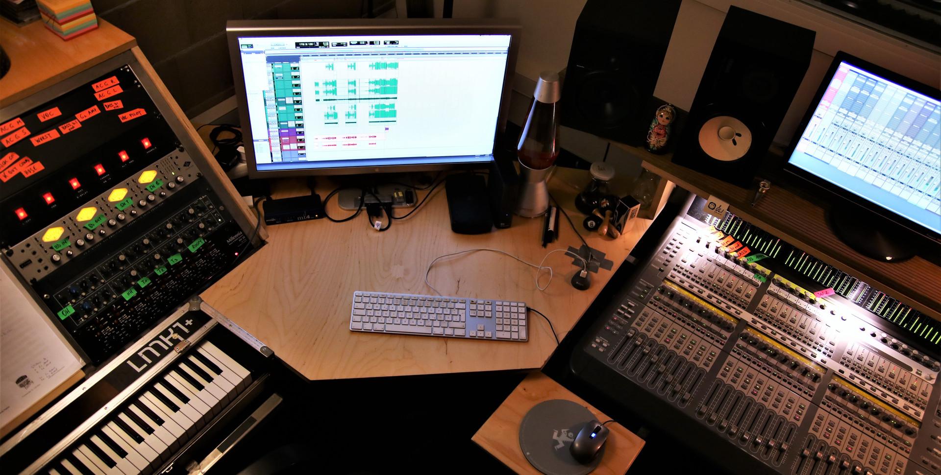 Arbeitsplatz Aufnahmeleitung und Editing