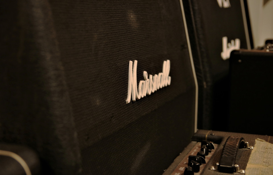 "Marshall Gitarren Cabinets ""Lady G."""