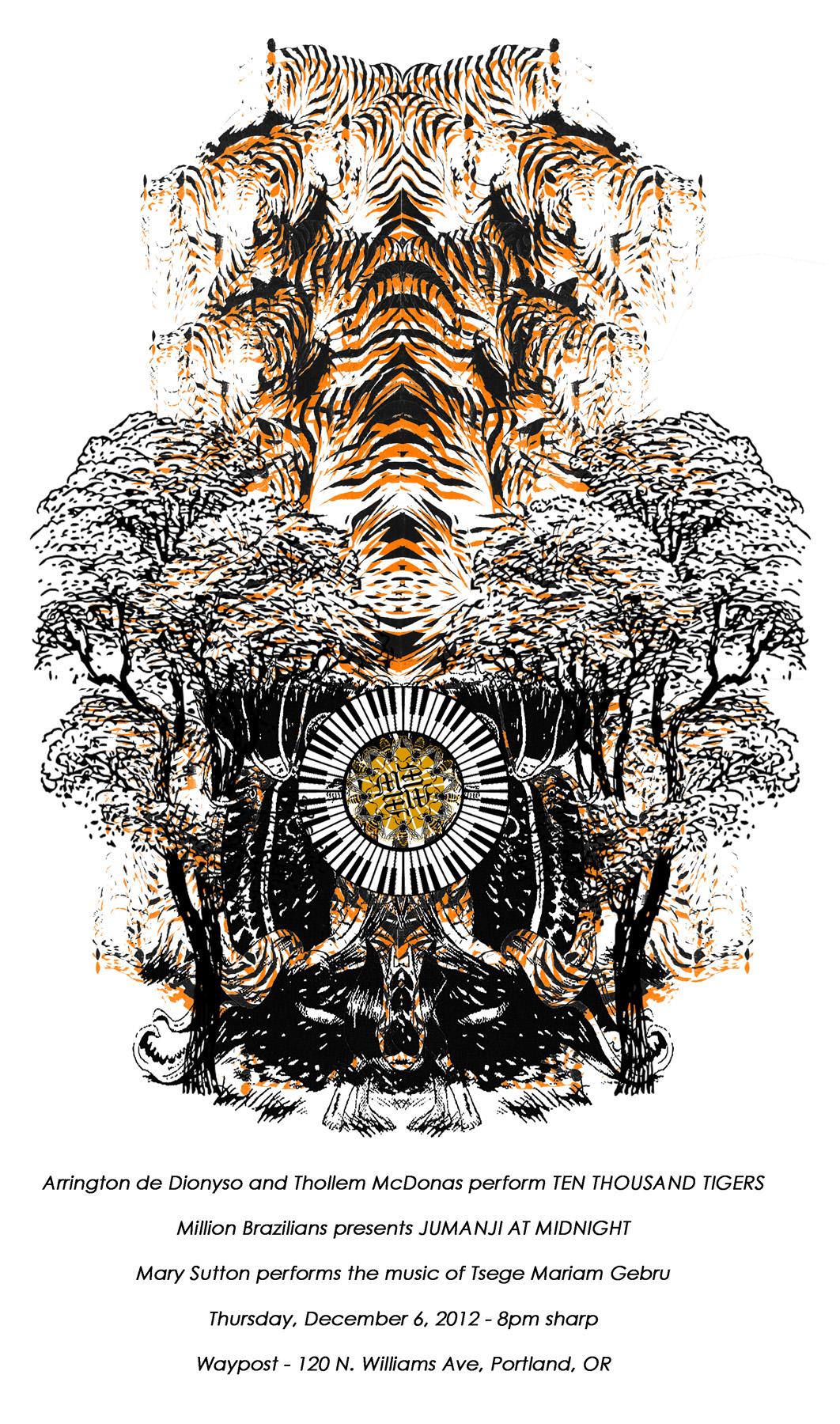 10,000 Tigers