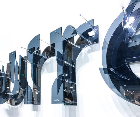 anamorphose typographie