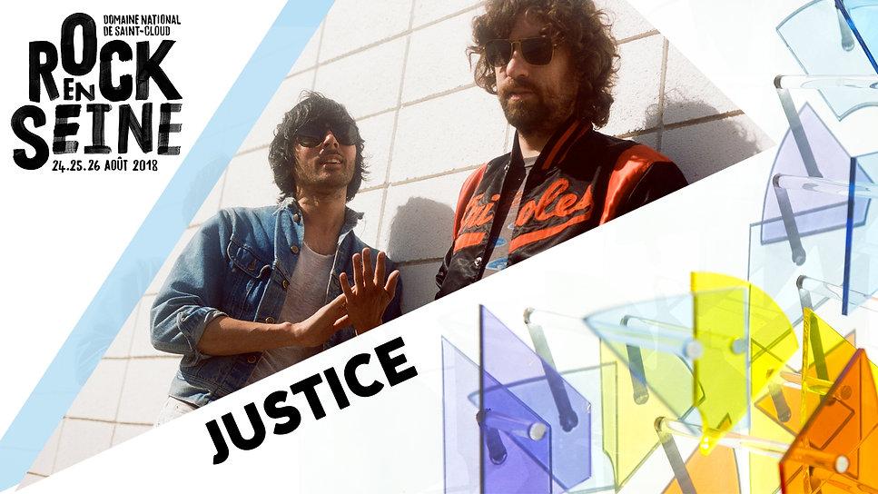 artiste rock en seine justice