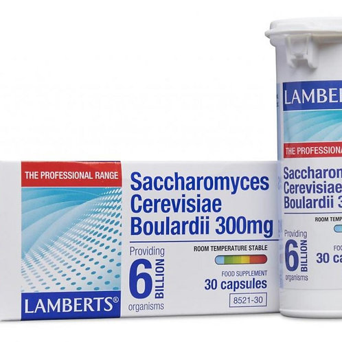 Saccharomyces Cerevisiae Boulardii 300mg