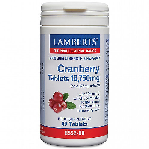 Cranberry Tablets 18,750mg