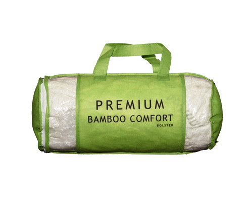 A Round Hotdog Version Of Our Regular Bamboo Pillow In Convenient Size Bolster Offers Comfortable Place To Rest Your Head And