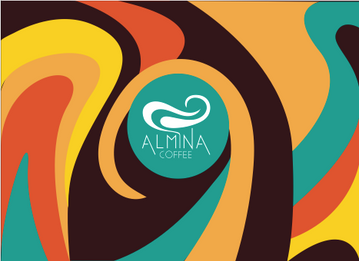 Main artwork for Almina coffee