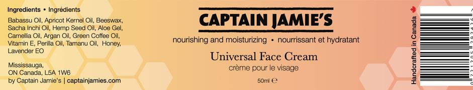 Captain Jamies Cream Label