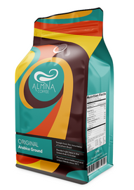 Packaging for Almina coffee