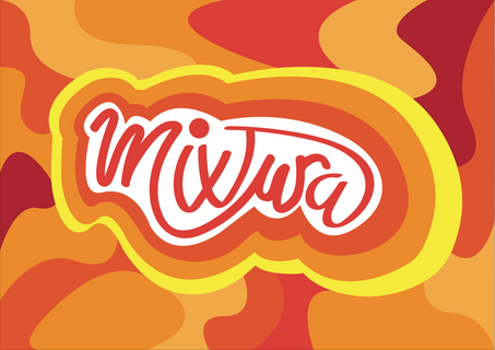 Mixtura logo and artwork