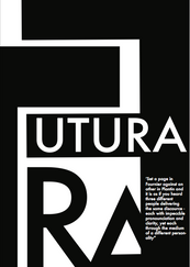 Second version of futura poster