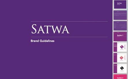 Brand book for Satwa