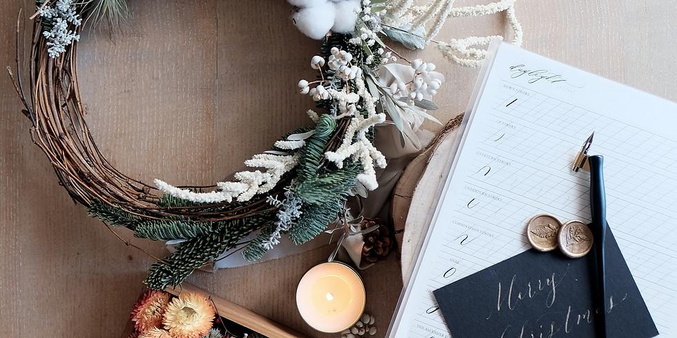 Virtual Holiday Wreath Workshop