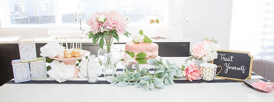 Spring garden tablescape by Efflorescence Events