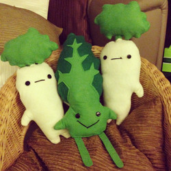 Vegetable Plush Toys