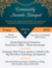 Copy of Banquet Atelier Invitation Poste
