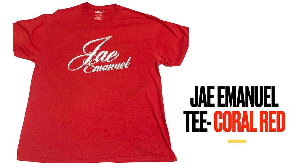 Jae EmanuelTee- Coral Red