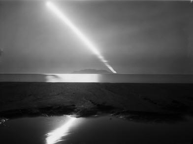 Moonrise over Hauturu, 2020