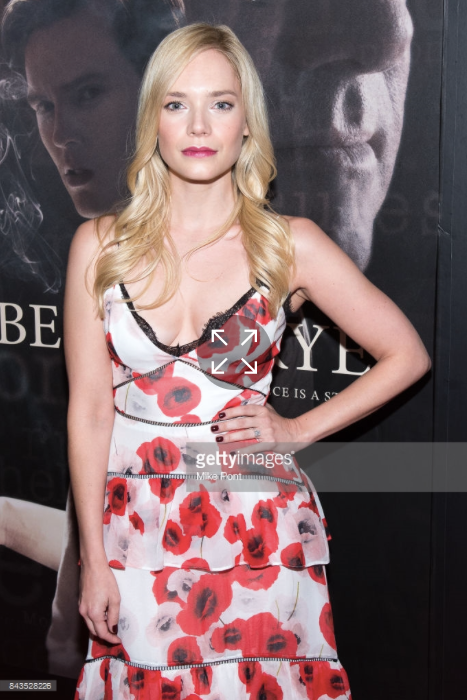 Caitlin Mehner attends the Rebel in the Rye premiere