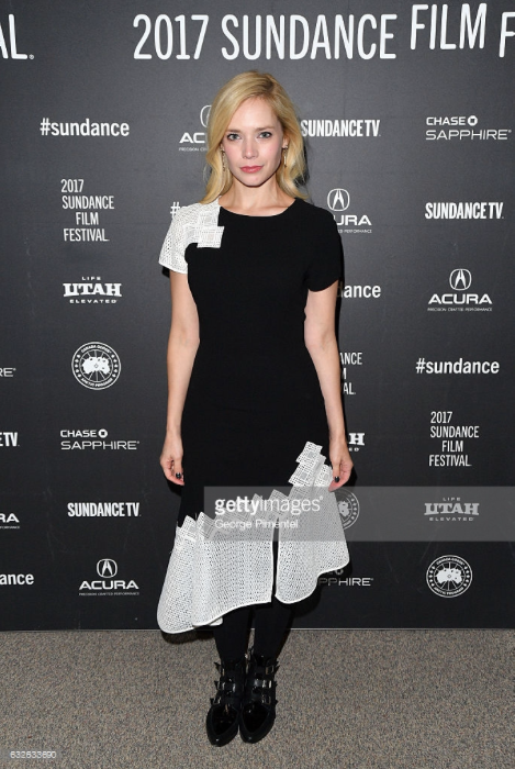 Caitlin Mehner attends the Sundance Film Festival 2017